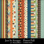 Forest fall kit papers small