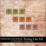 Feeling Like Fall Alphabet Pack-$3.99 (Laura Burger)