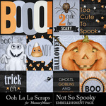 Not So Spooky Pocket Scrap Cards-$1.99 (Ooh La La Scraps)