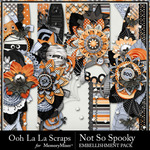 Not So Spooky Page Border Pack-$1.99 (Ooh La La Scraps)