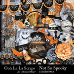 Not So Spooky Combo Pack-$4.99 (Ooh La La Scraps)