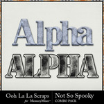 Not so spooky kit alphas small