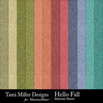Hello Fall Shimmer Paper Pack-$2.99 (Tami Miller)