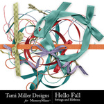 Hello Fall Ribbon Pack-$1.99 (Tami Miller)