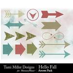 Hello Fall Arrows Pack-$1.49 (Tami Miller)