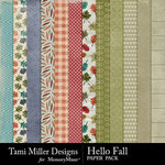 Hello Fall Paper Pack-$2.99 (Tami Miller)