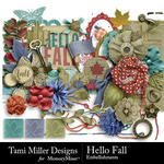 Hello Fall Embellishment Pack-$2.49 (Tami Miller)