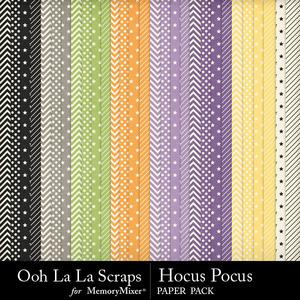 Hocus pocus pattern papers medium