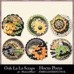 Hocus Pocus OLL Cluster Seals Pack-$1.99 (Ooh La La Scraps)