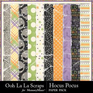 Hocus pocus worn papers medium