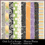 Hocus pocus worn papers small