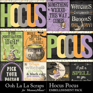 Hocus pocus cards medium