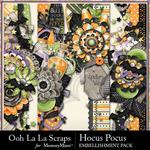 Hocus Pocus OLL Page Borders Pack-$1.99 (Ooh La La Scraps)