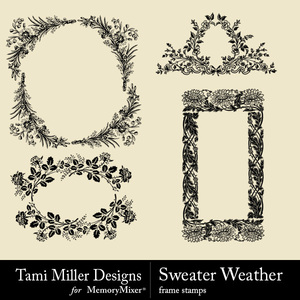 Sweater weather frames medium