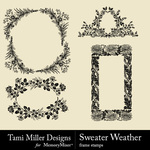 Sweater Weather TM Frames Pack-$1.00 (Tami Miller)