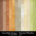 Sweater Weather TM Paper Pack-$3.99 (Tami Miller)