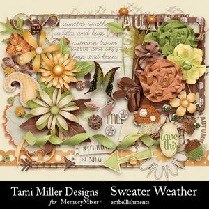 Sweater weather embellishments medium