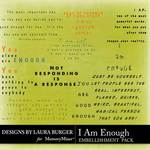 I Am Enough WordArt Pack-$4.99 (Laura Burger)