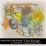 I Am Enough Paint Pack-$3.99 (Laura Burger)