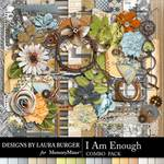 I Am Enough Combo Pack-$8.99 (Laura Burger)