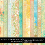 Captured Moments 4 Grunge Paper Pack-$3.99 (Laura Burger)