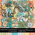 Captured Moments 4 Combo Pack-$8.49 (Laura Burger)