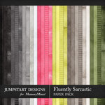 Fluently Sarcastic Basic Paper Pack-$3.99 (Jumpstart Designs)