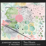 Two Hearts Accents Pack-$3.99 (Jumpstart Designs)