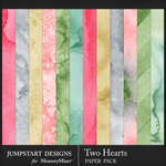 Two Hearts WC Paper Pack-$3.99 (Jumpstart Designs)