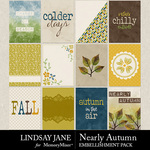 Nearly Autumn Journal Cards Pack-$2.49 (Lindsay Jane)