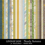 Nearly Autumn Paper Pack-$2.99 (Lindsay Jane)