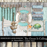 The Ocean is Calling Combo Pack 2-$5.99 (Laura Burger)
