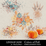 Colors of Fall Scatterz Pack-$2.49 (Lindsay Jane)