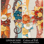 Colors of Fall Borders Pack-$2.49 (Lindsay Jane)