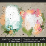 Together We Are Family Art Transfer Pack-$3.99 (Jumpstart Designs)