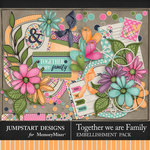 Together We Are Family Add On Pack-$3.99 (Jumpstart Designs)
