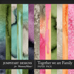 Together We Are Family WC Paper Pack-$3.99 (Jumpstart Designs)