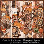 Pumpkin Spice Page Borders Pack-$1.99 (Ooh La La Scraps)