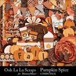 Pumpkin Spice Combo Pack-$4.99 (Ooh La La Scraps)