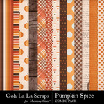 Pumpkin spice kit papers small