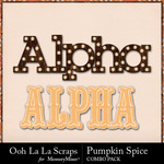 Pumpkin spice kit alphas small