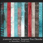 Jumpstart Your December 2017 Blended Papers-$3.99 (Jumpstart Designs)