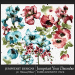 Jumpstart Your December 2017 WC Florals Pack-$3.99 (Jumpstart Designs)