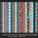 Jumpstart Your December 2017 Paper Pack-$3.99 (Jumpstart Designs)
