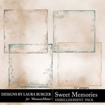 Sweet Memories LB Edgers Pack-$3.99 (Laura Burger)