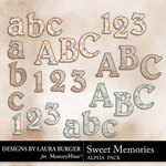 Sweet Memories LB Alphabet Pack-$3.50 (Laura Burger)