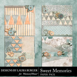 Sweet Memories LB Stacked Paper Pack-$4.99 (Laura Burger)