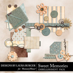 Sweet Memories LB Clusters Pack-$4.99 (Laura Burger)