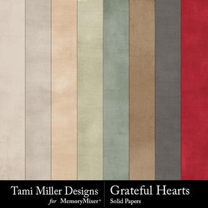 Grateful hearts solids medium