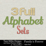 Family is Forever Alphabet Pack-$3.49 (Tami Miller)
